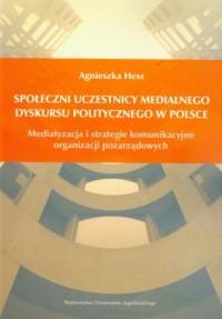 Społeczni uczestnicy medialnego - okładka książki