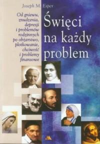 Święci na każdy problem - okładka książki