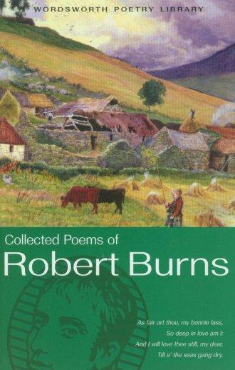 The Collected Poems of Robert Burns - okładka książki