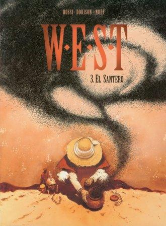 W.E.S.T. Tom 3. El Santero - okładka książki