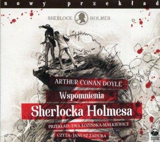 Wspomnienia Sherlocka Holmesa (CD - pudełko audiobooku