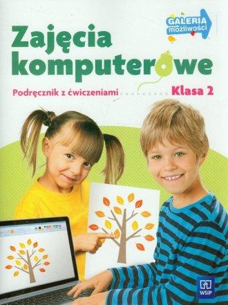 Zajęcia komputerowe. Klasa 2. Szkoła - okładka podręcznika