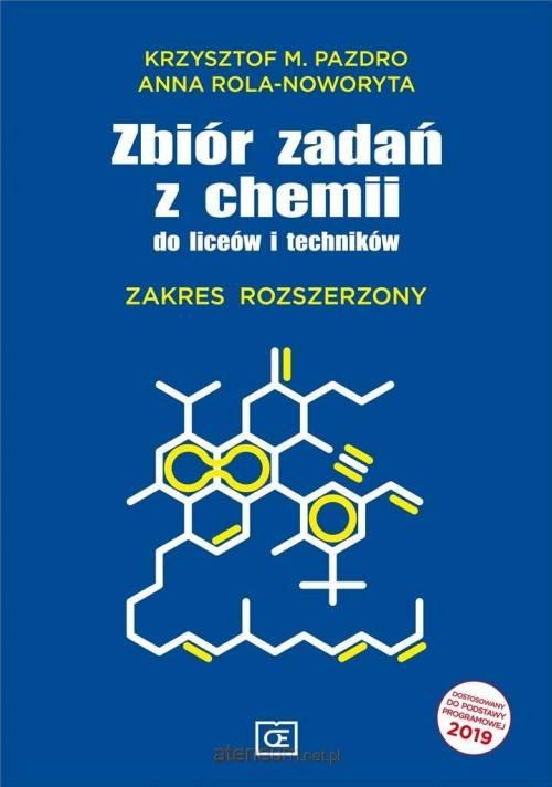 Zbiór zadań z chemii do liceów - okładka podręcznika