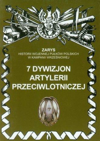 7 dywizjon artylerii przeciwlotniczej. - okładka książki