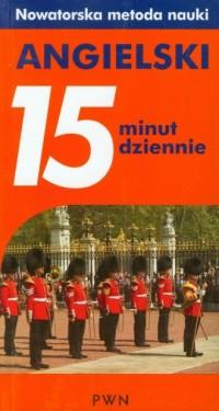 Angielski. 15 minut dziennie - okładka podręcznika