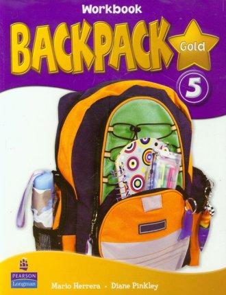 Backpack Gold 5. Workbook with - okładka podręcznika