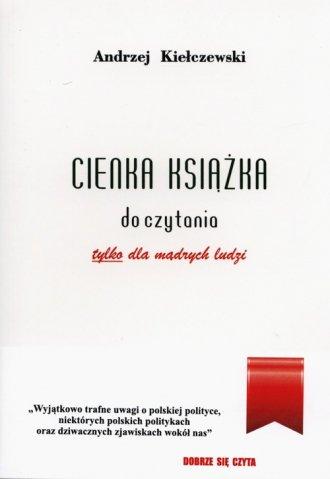 Cienka książka do czytania - okładka książki