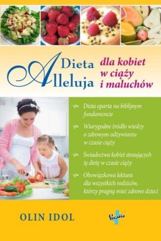 Dieta Alleluja dla kobiet w ciąży - okładka książki