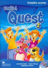 English Quest 2. Język angielski. - okładka podręcznika