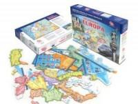 Europa (puzzle) - zdjęcie zabawki, gry