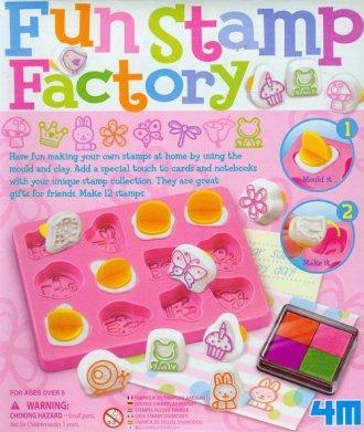 Fabryka zabawnych stempelków - zdjęcie zabawki, gry