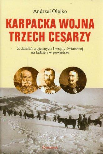 Karpacka wojna trzech cesarzy. - okładka książki