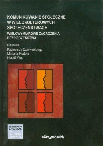 Komunikowanie społeczne w wielokulturowych - okładka książki