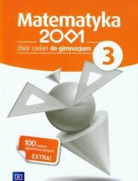 Matematyka 2001. Klasa 3. Gimnazjum. Zbiór zadań (z suplementem) - okładka podręcznika
