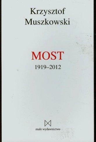 Most 1919-2012 - okładka książki
