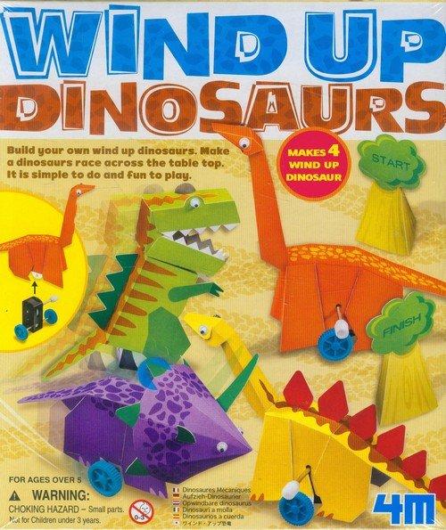 Nakręcane dinozaury - zdjęcie zabawki, gry