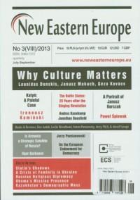New Eastern Europe 3/2013 - okładka książki