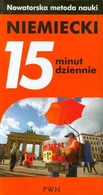 Niemiecki. 15 minut dziennie - okładka podręcznika