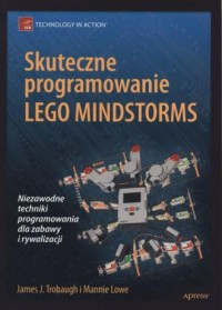 Skuteczne programowanie Lego Mindstorms - okładka książki
