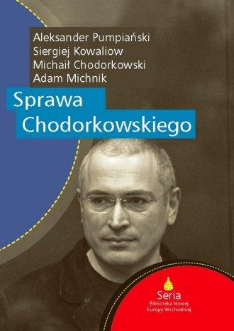 Sprawa Chodorkowskiego - okładka książki