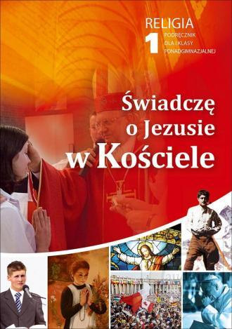 Świadczę o Jezusie w Kościele. - okładka podręcznika