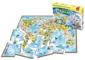 Świat (puzzle) - zdjęcie zabawki, gry