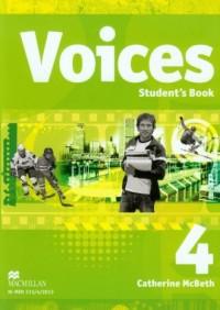 Voices 4. Students Book (+ CD). - okładka podręcznika
