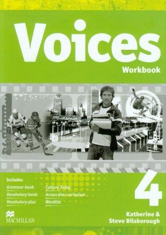 Voices 4. Workbook (+ CD). Język - okładka podręcznika