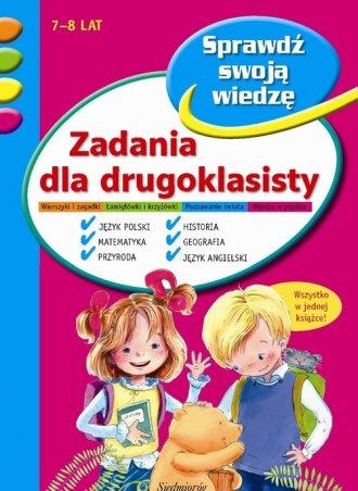 Zadania dla drugoklasisty - okładka książki