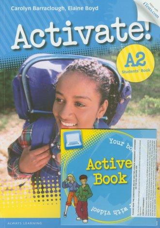 Activate! A2. Students Book + ActiveBook - okładka podręcznika