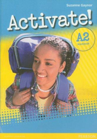 Activate! A2. Workbook. Język angielski. - okładka podręcznika