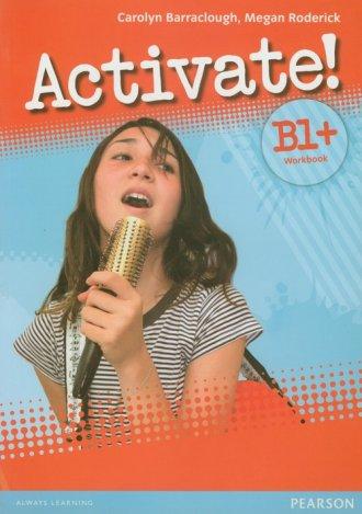 Activate! B1+ Workbook (+ CD). - okładka podręcznika