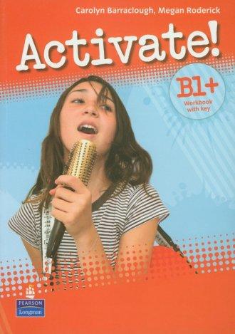 Activate! B1+ Workbook with key - okładka podręcznika