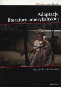 Adaptacje literatury amerykańskiej - okładka książki