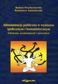 Administracja publiczna w wymiarze - okładka książki