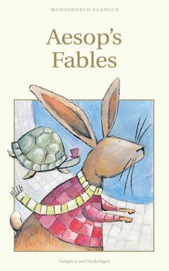 Aesops Fables - okładka książki
