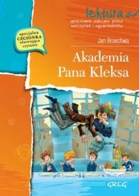 Akademia Pana Kleksa. Lektura z - okładka książki