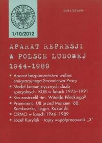 Aparat represji w Polsce Ludowej 1944-1989 nr 1(10)/2012 - okładka książki