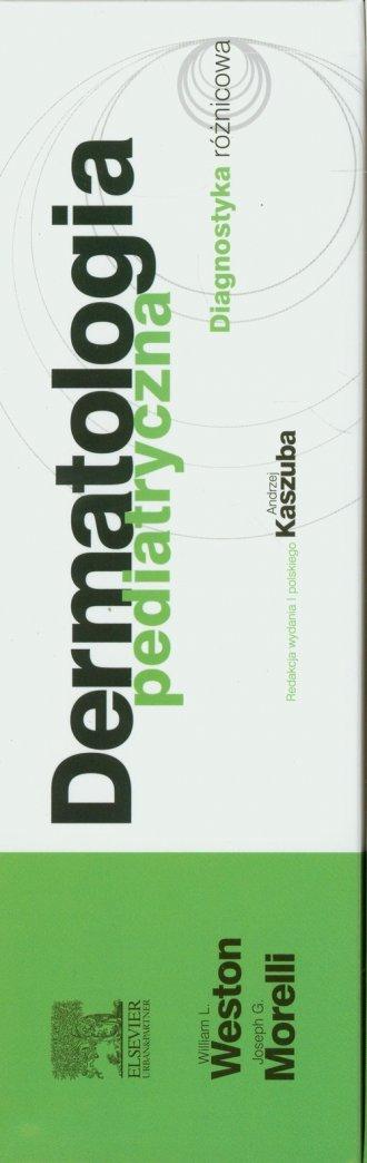 Dermatologia pediatryczna. Diagnostyka - okładka książki
