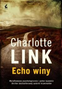 Echo winy - okładka książki