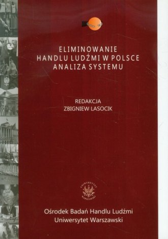 Eliminowanie handlu ludźmi w Polsce. - okładka książki