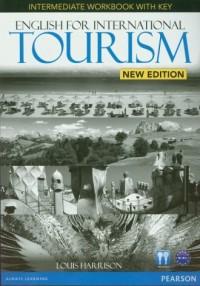 English for International Tourism Intermediate Workbook with key (+ CD) - okładka podręcznika
