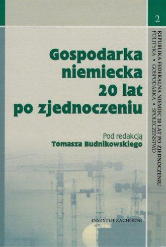 Gospodarka niemiecka 20 lat po - okładka książki