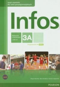 Infos 3A. Język angielski. Szkoły - okładka podręcznika