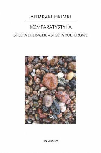 Komparatystyka. Studia literackie - okładka książki
