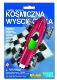 Kosmiczna wyścigówka - zdjęcie zabawki, gry