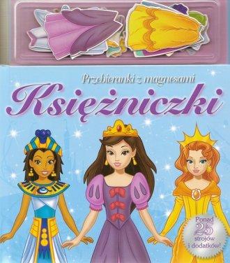 Księżniczki (ubieranki z magnesami) - okładka książki