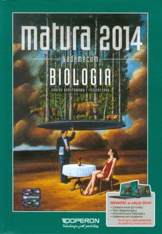 Matura 2014. Biologia. Vademecum. - okładka podręcznika