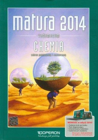 Matura 2014. Chemia. Vademecum. - okładka podręcznika