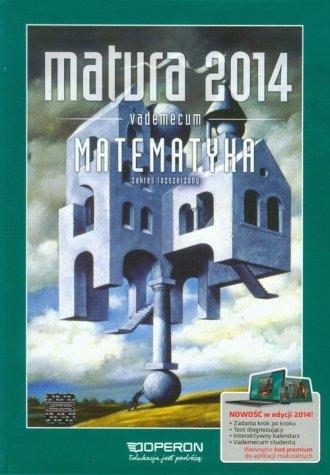 Matura 2014. Matematyka. Vademecum. - okładka podręcznika